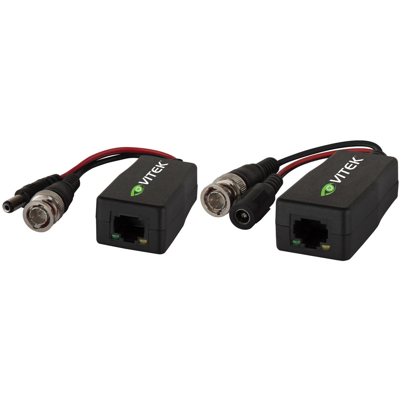 VT-TR4K (Passive Video Balun Transmitter/Receiver pair for HD-TVI